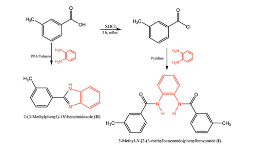 Synthesis of benzimidazole from carboxylic acid synthesis of triphenylmethanol and the trityl carbocation lab